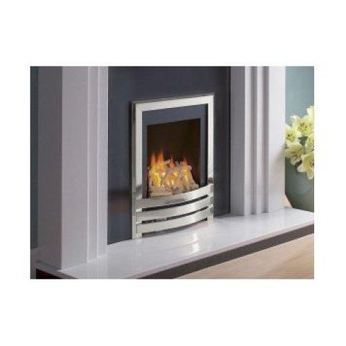 Designer Fire - Flavel FSRDU0MN Silver/ Driftwood Windsor Contemporary Gas Fire - MC