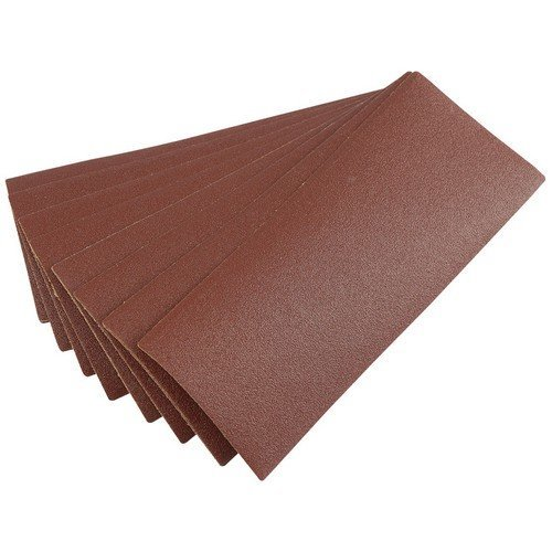 Draper 59466 Ten 232 x 92mm 100Grit Aluminium Oxide Sanding Sheets