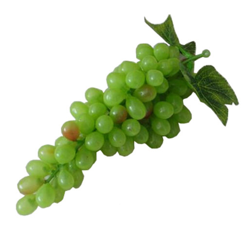 SimpleStyle Home Decor Realistic Artificial Fruits Play Food, Green Grapes