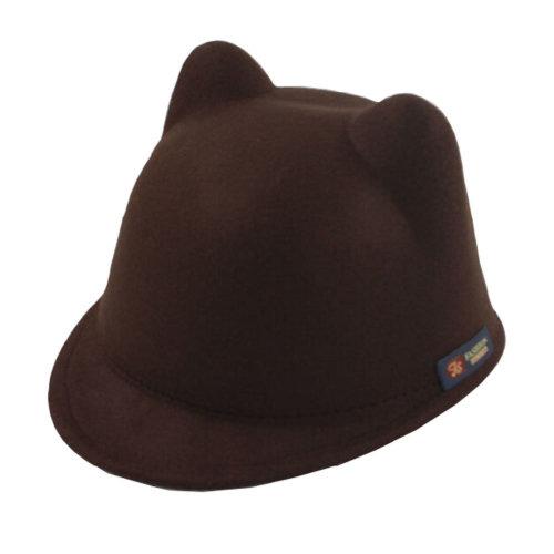 Winter Cat Ear Animal Equestrian Ears Cap With Devil Girls Horns Ear Autumn Boys Hat,3-6 years baby