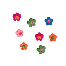10PCS Blossom Pushpins Thumbtack Painting Tool Message Button Office Supply