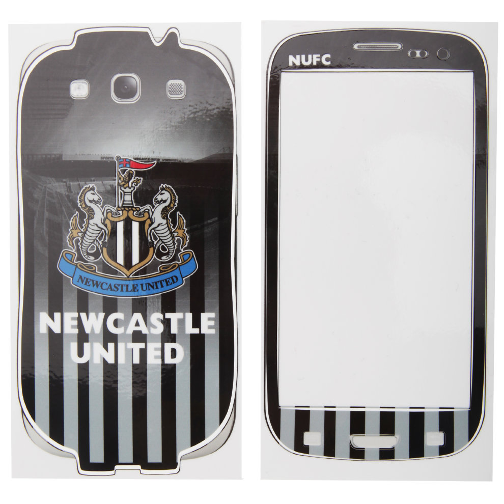 Newcastle United FC Official Samsung Galaxy S3 Football Crest Phone Skin