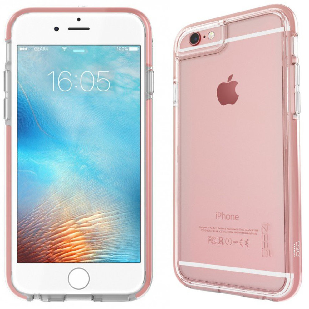 new arrival a74da 34e1c Rose Gold Piccadilly Case Cover for iPhone 6 / 6S D3O Impact Protection by  Gear4