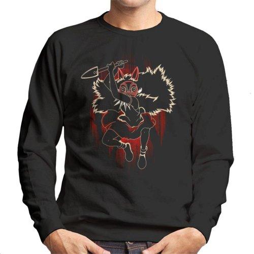 Shadow Of The Mask Princess Mononoke Men's Sweatshirt