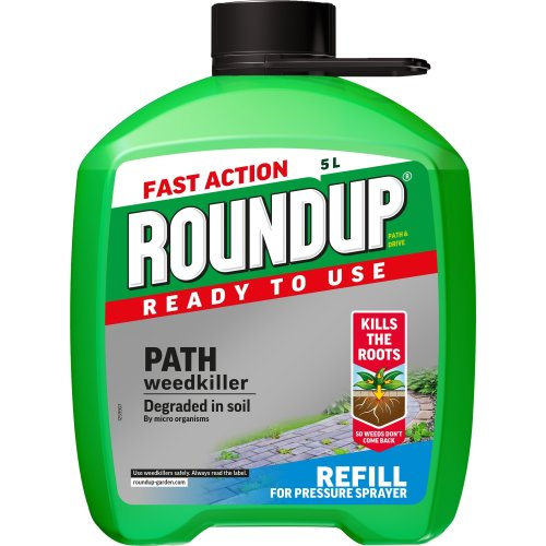 Roundup Ready to Use Path Weedkiller 5L refill