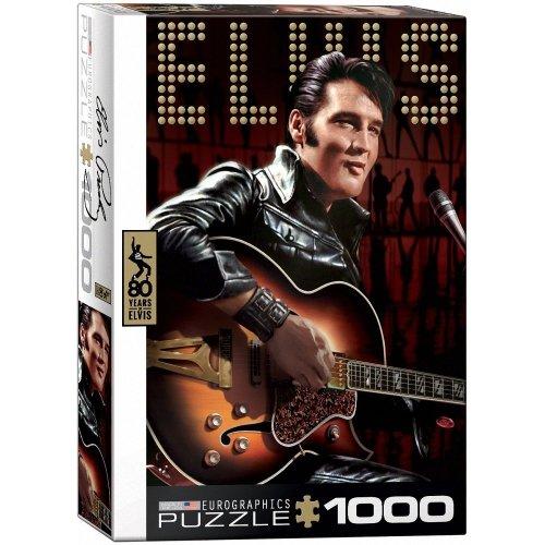 Eg60000813 - Eurographics Puzzle 1000 Pc - Elvis Portrait