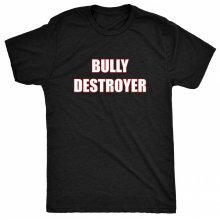 8TN Bully Destroyer - Anti Bullying Womens T Shirt