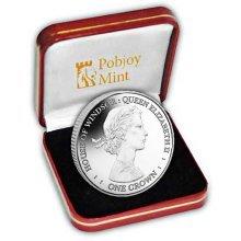 Falkland Islands 2017 Centenary of the House of Windsor  Queen Elizabeth II Silver Coin (FAL02)