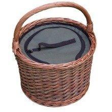 Round Cool Picnic Basket