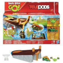 Angry Birds Go Racing Rivals Launcher - Dual Brand New Free Telepods 2 Once -  birds angry go racing launcher rivals dual brand new free telepods 2