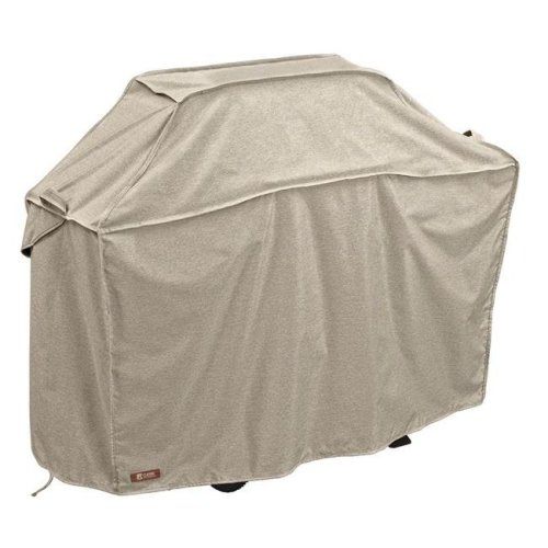 Classic Accessories 55-661-046701-RT Montlake Large Bbq Grill Cover, Grey - 64 in.