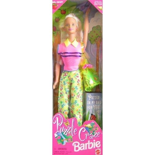 Puzzle Craze Barbie Doll w Puzzle For YOU! - Wal*Mart Special Edition (1998)