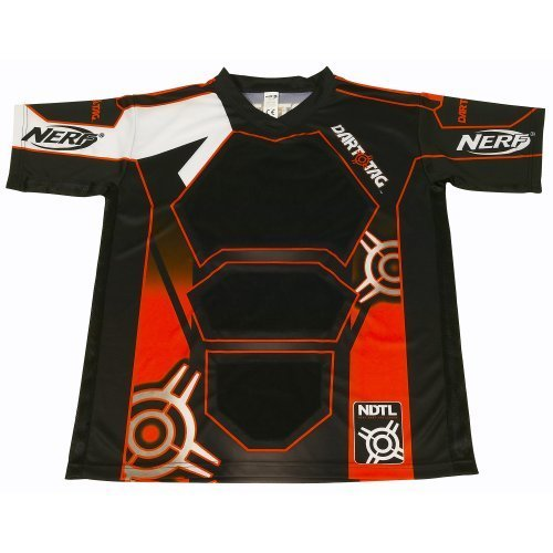 Nerf Dart Tag Official Competition Jersey Large Orange
