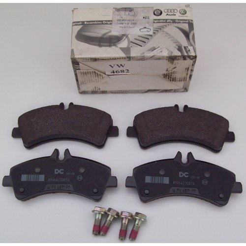 VW Volkswagen Crafter 5.0 Rear Brake Pad Kit 2E0698451A 2006 - 2011