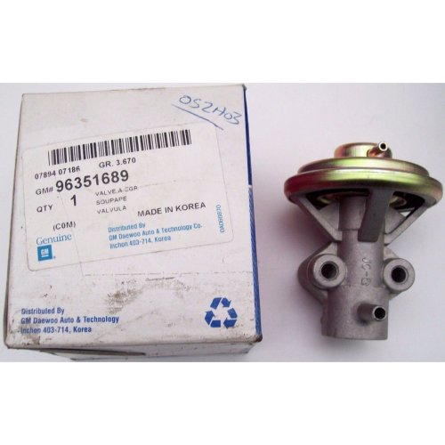 Daewoo Matiz Chevrolet Genuine New EGR A Valve GM 96351689