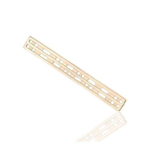 925 Sterling Silver Rennie Mackintosh Style Tie Clip - Bar.