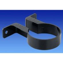 "Osma 0T034B Round pipe clip / bracket 68mm (2.5"" dia) Black"