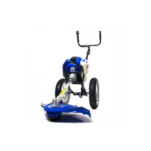 TRIMMER- Hyundai 50.8cc Wheeled Grass Trimmer HYWT5080