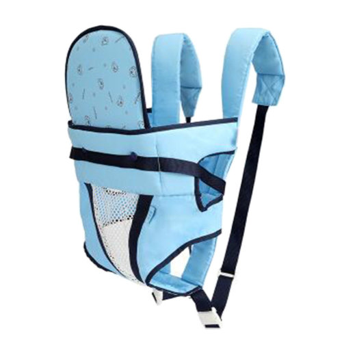 Baby Carrier Double Shoulders Seat Carrier,Dacron fabric Baby Carrier Blue