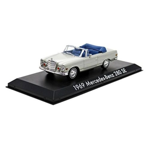 "1969 Mercedes 280 SE Convertible Top Down """"The Hangover"""" Movie (2009) 1/43 by Greenlight 86461"