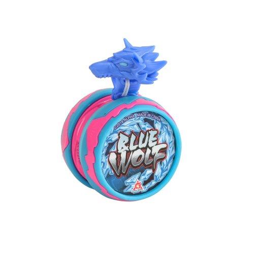 Auldey Yo Blazing Team Wolf Guardian Creature Level 1–Blue, eu677116