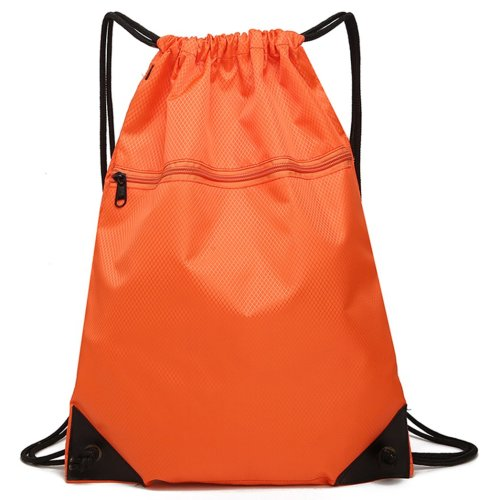 Drawstring Bag Unisex Gym Bag Sport Rucksack Shoulder Bag Hiking Backpack #10