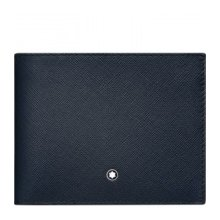 MONTBLANC PORTFOLIO 6 COMPARTMENTS SARTORIAL BLUE GREY 116328