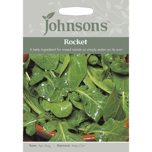 Johnsons Seeds - Pictorial Pack - Vegetable - Rocket - 1000 Seeds