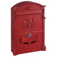 Traditional Post Box Red Letterbox Artistic Designer Ashford Rottner