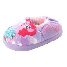 My Little Pony Slippers with Warm Fleece Lining