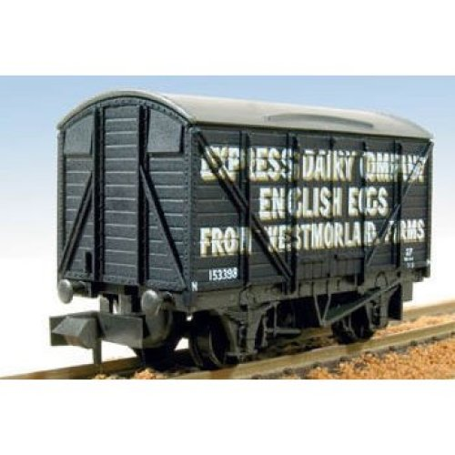 Box Van, Express Dairy English Eggs - N gauge wagon Peco NR-P133 free post