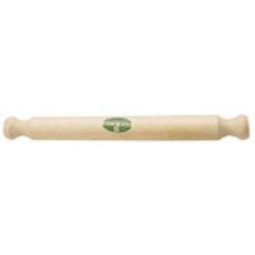 40cm Beech Wood Solid Rolling Pin - Kitchen Craft Kcsol Fsc New Traditional -  rolling pin 40cm kitchen craft beech solid kcsolpin wood fsc new