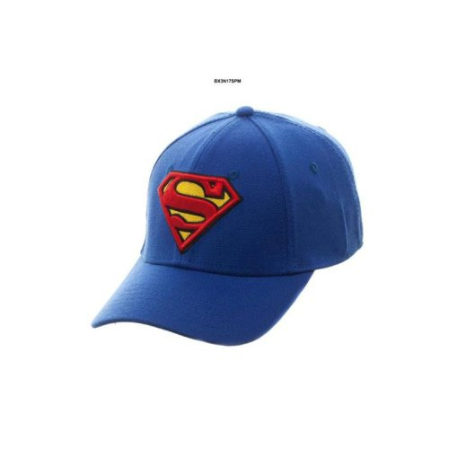 sports shoes 742e1 b3080 Baseball Cap - Superman - Royal Flex Cap New Hat Licensed Bx3n17spm -  bioworld mens dc comics superman royal flex baseball cap on OnBuy