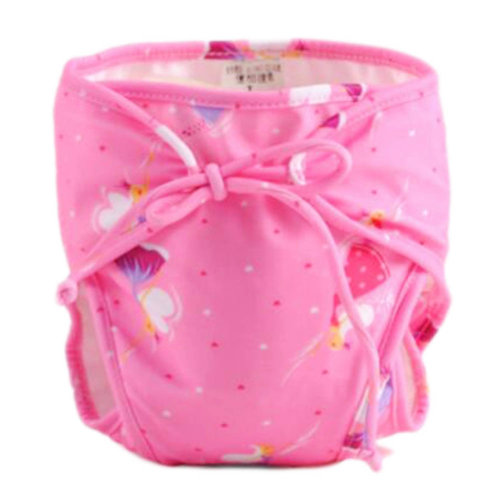 Reusable Swim Diaper Adjustable Absorbent Shower Diapers for Baby Toddler, A19