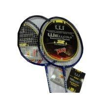 Cheap Badminton Rackets Recreational Rackets with Case Badminton Set Navy