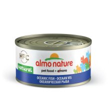 Almo Nature Hfc Natural Cat Adult Ocean Fish 70g (Pack of 24)