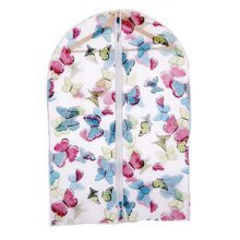 5Pcs Home Travel Portable Clothes Dust-proof Cover Waterproof Cover, Butterfly