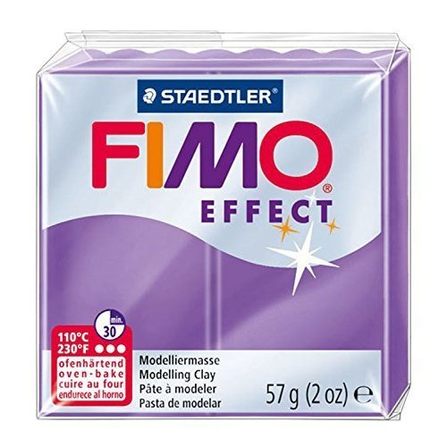 Staedtler - Fimo effect 57g, Translucent Purple