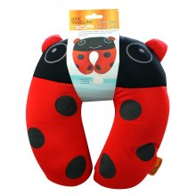 Kids Ladybird Neck Pillow -  childrens neck rest lady bird red black boyz toys ry698 new
