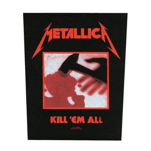 Metallica Backpatch Rückenaufnäher # 9 Kill 'em All - Em Official Heavy Band -  metallica kill em backpatch official heavy band merch new