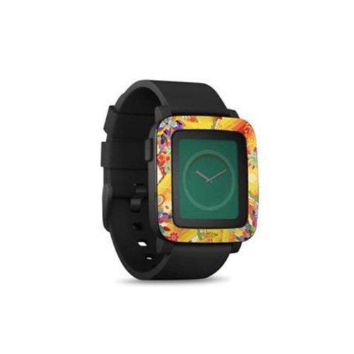DecalGirl PSWT-WALLFLOWER Pebble Time Smart Watch Skin - Wall Flower