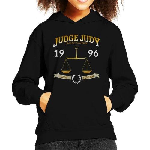 Judge Judy School Of Law Kid's Hooded Sweatshirt
