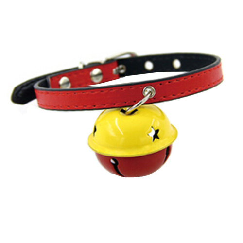 Personalized Designed Cat Pet Collar With Latticed And Adjustable Fashionable