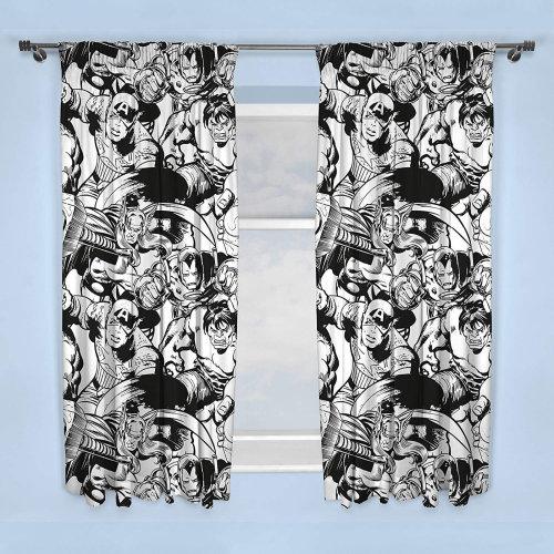 Marvel Comics Crop Curtains 66 x 72 (168 x 183)