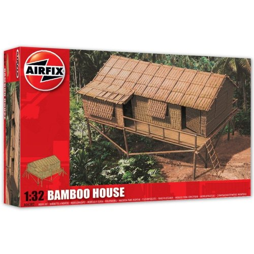 Airfix 1:32 Scale Bamboo House Modelkit