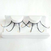 Spider False Eyelashes 3D Extension Lashes Mink Halloween Party Black Wave Handmade
