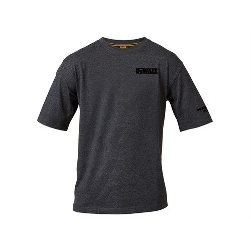 DEWALT TYPHOON T SHIRT L Typhoon Charcoal Grey T Shirt Large