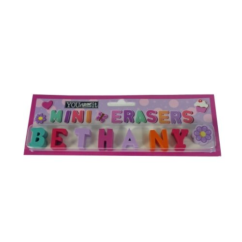 Childrens Mini Erasers - Bethany
