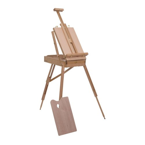 Homcom Wooden Painting Easel | Folding Art Easel
