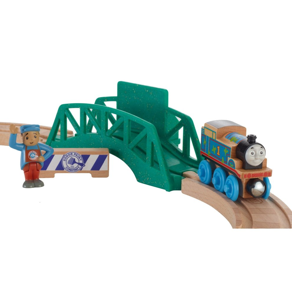 Thomas Friends Fhm64 Wood 5 In 1 Starter Set Thomas The Tank Engine Toy Train Set Wooden Train Set 3 Year Old
